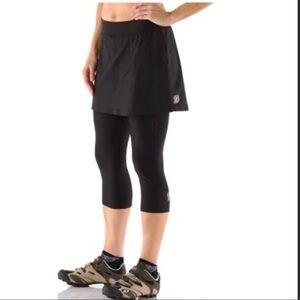 Navara Padded Biking Capris With Skirt